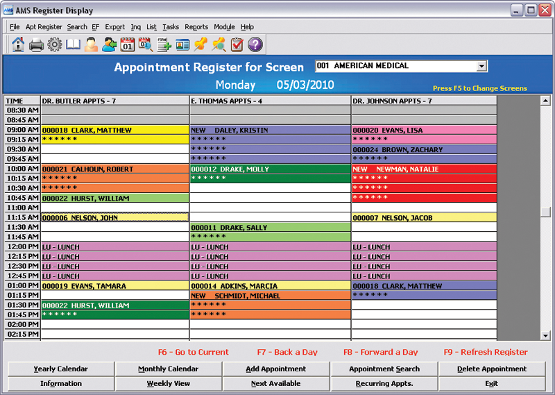 Amazing Sample Screenshots. Appointment Scheduling   Appointment Register Awesome Ideas