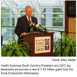 Grant To Enable Electronic Health Records Research in SC