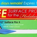 FREE Surface Pro 3 for the Holidays