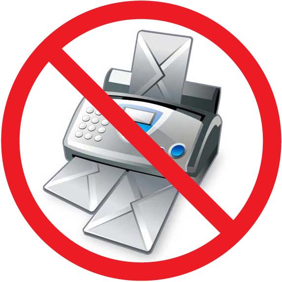 fax machine no phone line