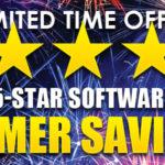 5-Star Software Summer Savings!