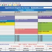 Internal Medicine - Appointment Register