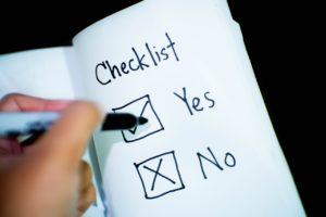 EHR Software Image Checklist