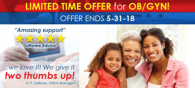 Limited Time Offer for OB/Gyn!