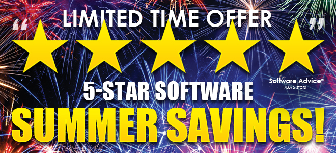 5-Star Software Summer Savings!
