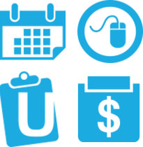 Medical software icons